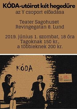 Színház: Kóda - utóirat két hegedűre